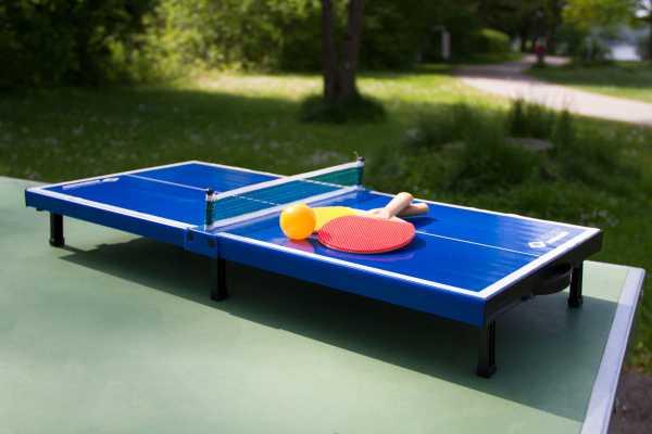 SCHILDKRÖT Mini-Tischtennis-Set
