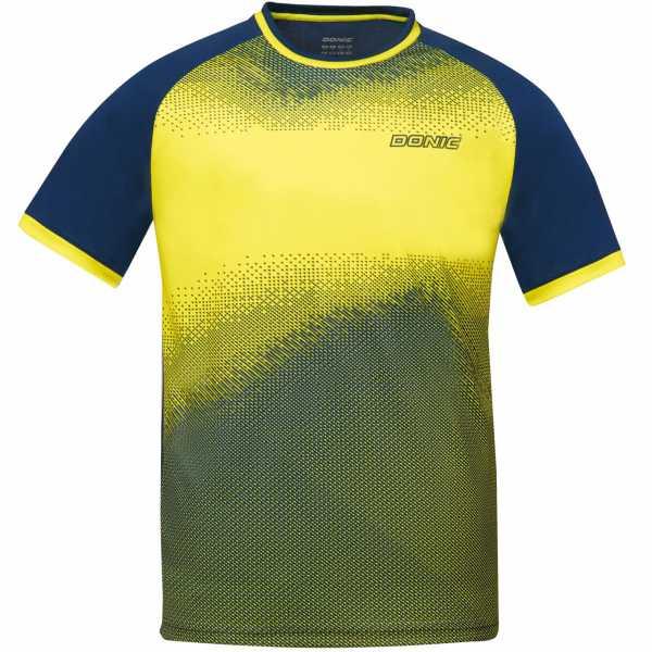 DONIC T-Shirt Agile gelb-marine