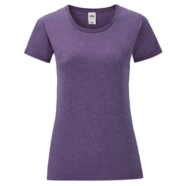 Ladies Shirt Iconic T violett