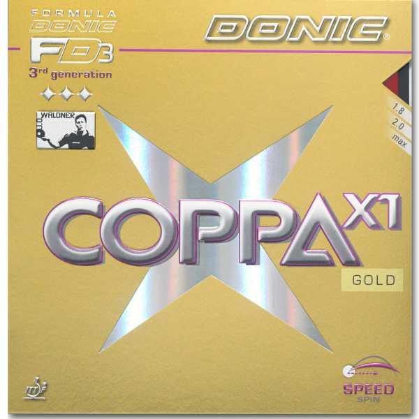 DONIC Coppa X1 Gold