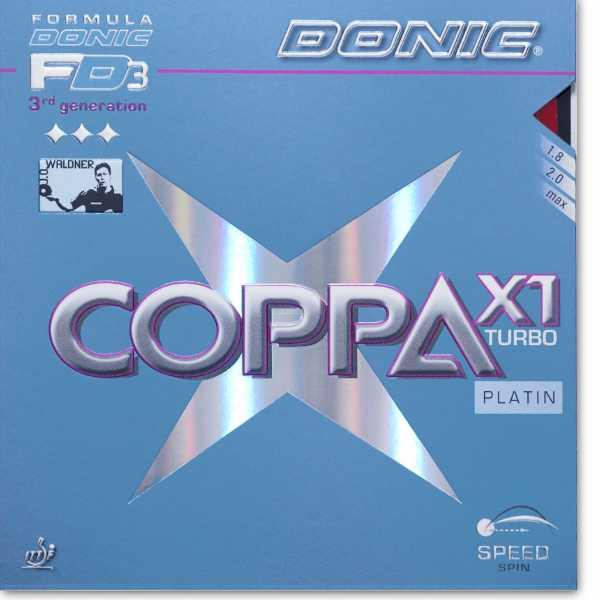 DONIC Coppa X1 Platin