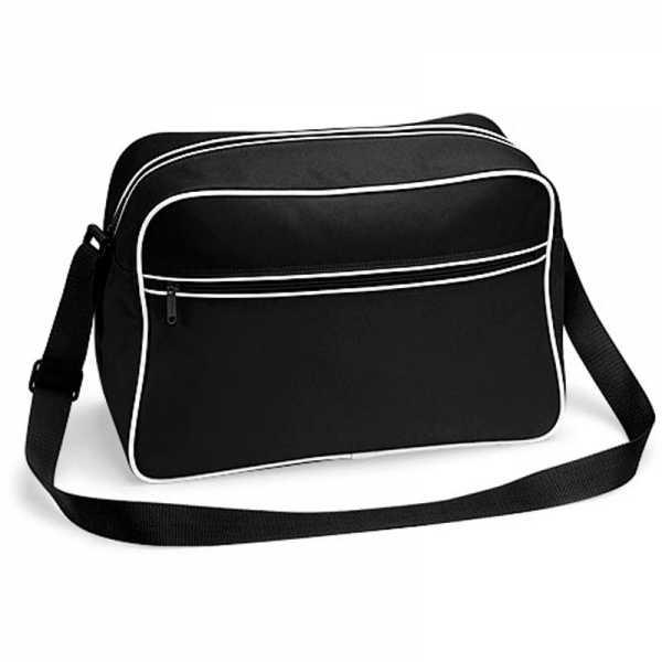 Tasche Retro Basic schwarz