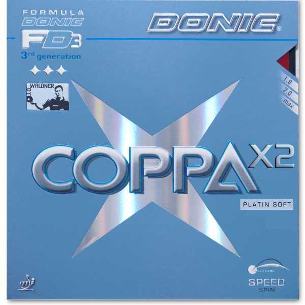 DONIC Coppa X2 Platin Soft