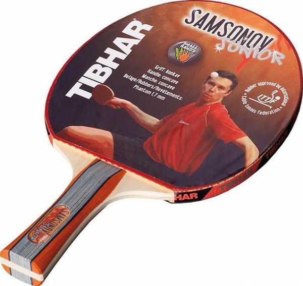 TIBHAR Samsonov Junior Komplett TT-Schläger
