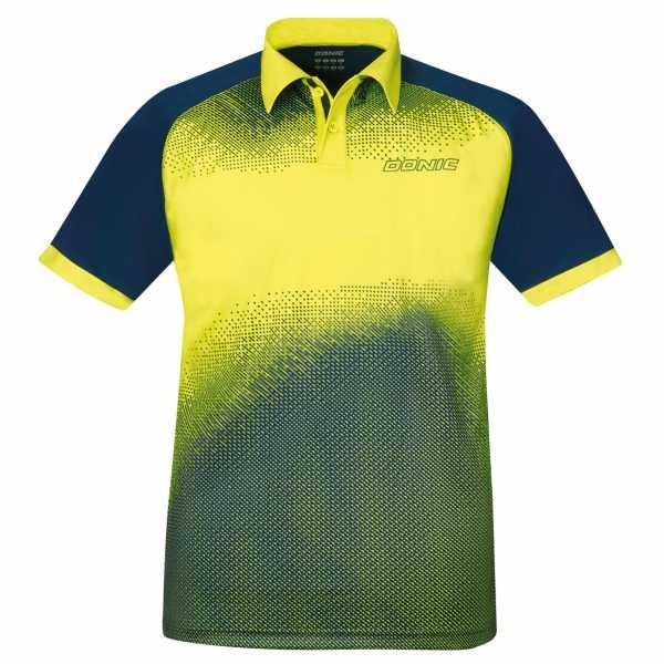 DONIC Poloshirt Blitz gelb