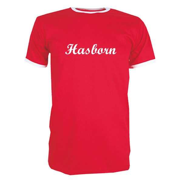 T-Shirt Hasborn rot