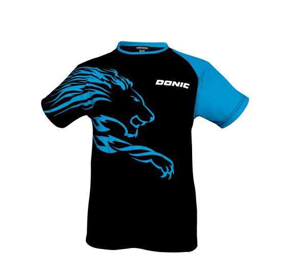 DONIC T-Shirt Lion schwarz-blau
