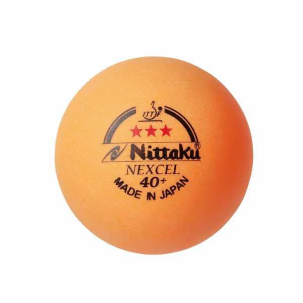 Nittaku Nexcel 40+ *** Tischtennis Wettkampf Ball
