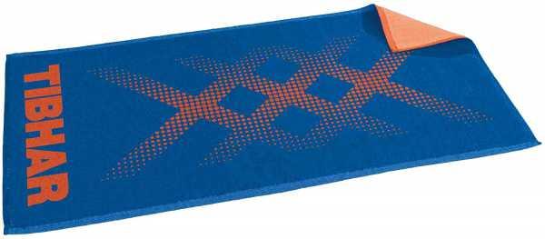 TIBHAR Triple X Handtuch blau-orange