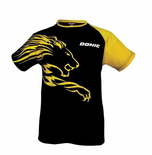 DONIC T-Shirt Lion schwarz-gelb