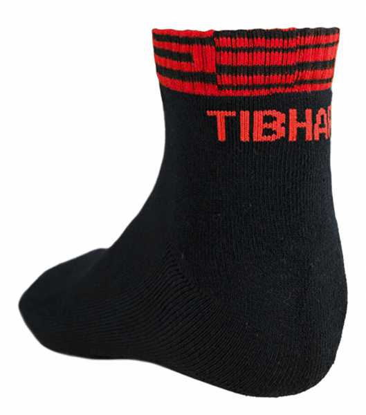 TIBHAR Socke Line schwarz