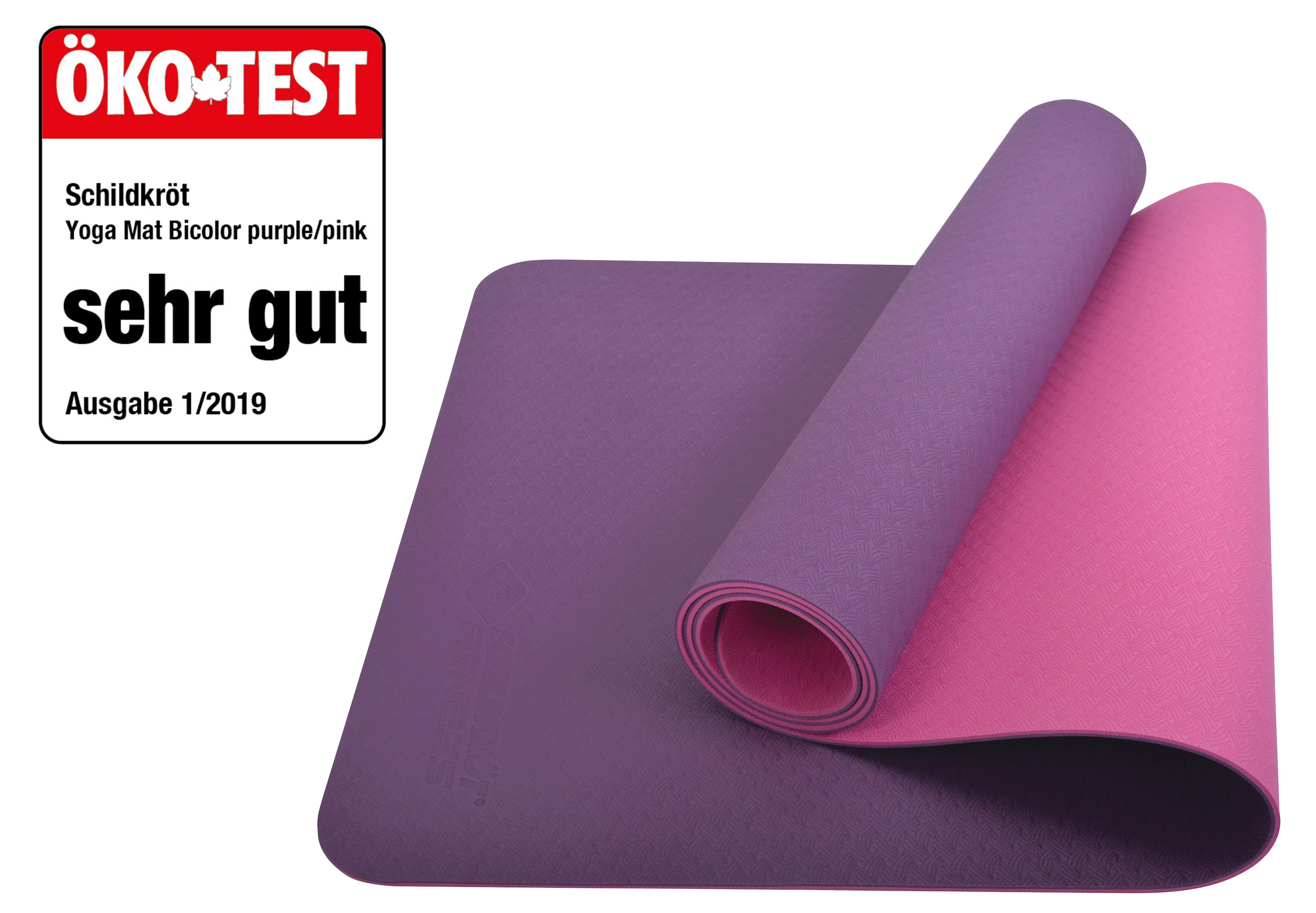 SCHILDKRÖT Yogamatte, Purple Pink