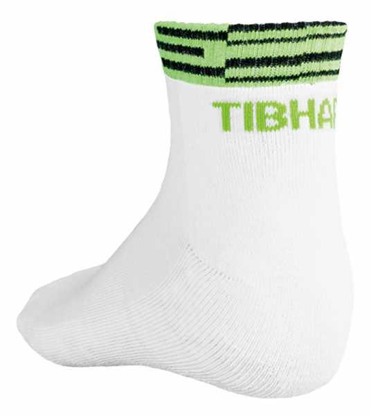 TIBHAR Socke Line weiß-grün