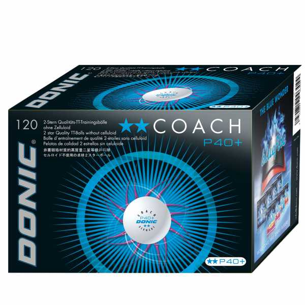 DONIC P40+** Trainingsball